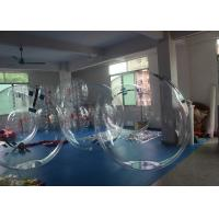 China Giant Inflatable Bubble Jumbo Water Ball 2.5m Size With Waterproof 0.8mm PVC on sale