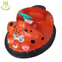 Wholesale Hansel kids outdoor amusement park for sales plastic bumper car 24 volt ride on car from china suppliers
