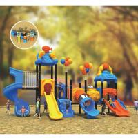 Buy cheap commercial metal plastic swing sets outside play gym for toddlers from wholesalers