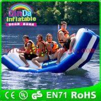 Buy cheap Inflatable floating water seesaw pool seesaw for toddlers inflatable floating from wholesalers