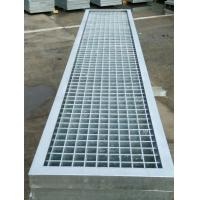 China Big Span Metal Bar Grating , High Strength Steel Floor Grating For Platform on sale