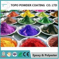 Wholesale High Hardness Hybrid Powder Coating , RAL1016 Sulfur Yellow Carbon Steel Pipe Coating from china suppliers