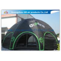 Wholesale 4 D - Ring Black Inflatable Air Tent Igloo Dome Tent for Outdoor Show from china suppliers