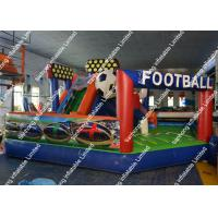 Wholesale Movement Inflatable Football Game Fire resistance for adults from china suppliers