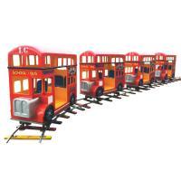 Amusement equipment indoor small train square track small train luxury train for sale