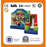 Wholesale 2014 hot sell air bouncer inflatable trampoline for Russia market from china suppliers