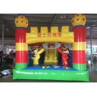 Quality Mickey Mouse Disney Land Inflatable Jumping Castle With Reinforcement Belts for sale