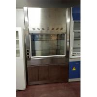 China Modern Stainless Steel Fume Hood , Cleaning Room Laboratory Fume Hood on sale