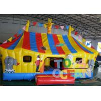 Wholesale Funny Inflatable Animal Zone Cartoon Bounce Combo For Childhood Amusement from china suppliers