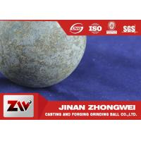 Wholesale Grinding Media Forged Steel Ball For Ball Mill Machinery , HRC 58-64 Breakage ≤1% from china suppliers