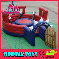 Wholesale SP-1477 Air Bouncer InflatableCourseInflatable Gladiator Dueling from china suppliers