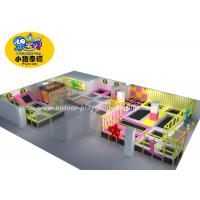 Wholesale Colorful Children Playground Equipment / Jump Indoor Trampoline Park from china suppliers