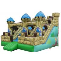 Wholesale Customized China Inflatable Royal Bouncy Castle With Slide For Sale from china suppliers
