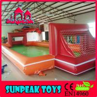 China F-003 Children Sport Inflatable Football Field For Sale on sale
