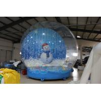 Wholesale 5M Giant Inflatable Snow Globe from china suppliers