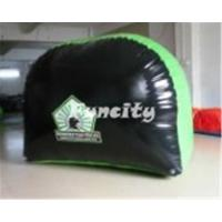 Wholesale Durable 0.6mm PVC Tarpaulin Inflatable Paintball Bunker with Bow Arrow Shooting Games from china suppliers