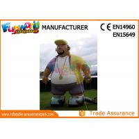 Wholesale Oxford Cloth White Advertising Inflatables Man / Blow Up Cartoon Mascot from china suppliers