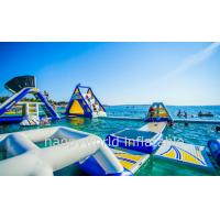 Wholesale inflatable auqa slide, inflatable sea water park games, water park equipment, water sports from china suppliers