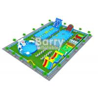 China Professional Inflatable Water Park Business Plan / Water Park Design Build on sale