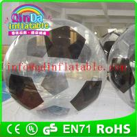 Wholesale QinDa Inflatable zorb ball for sale water zorb ball roll inside inflatable ball from china suppliers