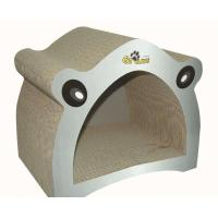 Wholesale Lovely Design Corrugated Cat Scratcher ,  Free Catnip Cat Wave Scratcher OEM from china suppliers