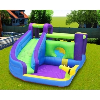 Wholesale Twin Peaks Kids 0.55mm Inflatable Backyard Water Slide Pool Park from china suppliers