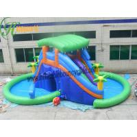 Wholesale OEM Big Funny Outdoor Inflatable Pool Water Slide With CE / UL Blower from china suppliers