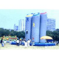 Wholesale Fire - retardant 0.55mm PVC tarpaulin Inflatable Climbing Wall YHCW 008 with 3x1500W from china suppliers