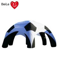 China Spider shaped Event customized size advertising inflatable soccer tent on sale
