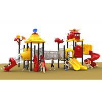 Buy cheap Amusement Kids Outdoor Plastic Slide Play Equipment Size / Style / Theme from wholesalers