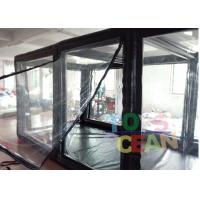 China Car Motorcycle Capsule Transparent Inflatable Cover Garage Dust Proof on sale