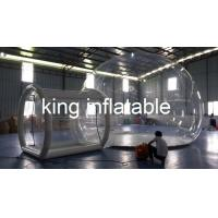 China OEM Outdoor Inflatable Clear Bubble Tent 6m Dia Inflatable Camping Tent on sale