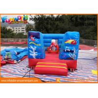 China Digital Printing Inflables Juegos Kids Castillos / Commercial Bounce House on sale