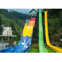Quality Hotel And Resort Fiberglass High Speed Water Slide for sale
