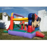 Quality Customized Mickey Mouse Inflatable Bounce House Moonwalk Bouncers With Logo Printing for sale