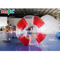 Wholesale 1.5m 0.8mm PVC Inflatable Bubble Soccer Transparent / Red / Green Color from china suppliers