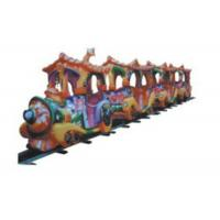 Big Size Kids Ride On Train With Track CE ISO TUV SGS Certificates Seamless Welding