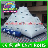 Wholesale Water park game inflatable climbing iceberg for lake climb iceberg inflatable water sports from china suppliers