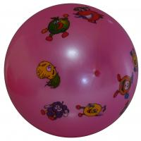 Quality multi color printed inflatable PVC ball toys pink ground angry fruits for sale