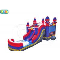 Wholesale Outdoors Activities Wet Obstacle Course Bouncy Castle  100-400 Lbs Capacity from china suppliers