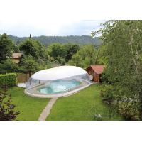 Wholesale Commercial Inflatable Transparent 8m Swimming Pool Dome Cover tent from china suppliers