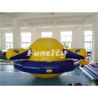 Wholesale Planet Saturn Shape Inflatable Water Toys Floating For Water Park Playing from china suppliers