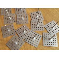 Wholesale Perforated Self Adhesive Insulation Pins Fix Insulation Rough Surface12Ga Dia 63.5mm from china suppliers
