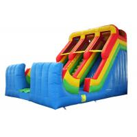 China Double Lane Inflatable Slide Commerical Grade Colorful Customized Size on sale