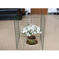 Quality Green Plastic Metal Wire Compost Container 450 Liter Easily Install 690X890mm for sale