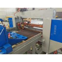China PLC Control Steel Grating Welding Machine / Production Line For Width 1200mm on sale