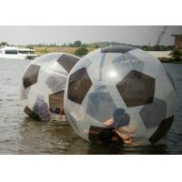 Wholesale Football Pattern Water Hamster Ball , Leak Proof Human Hamster Ball For Water from china suppliers