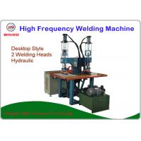 Wholesale Hydraulic Press Dual Head High Frequency Welding Machine Pedal Triggered 8 KW from china suppliers