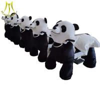 Buy cheap Hansel party happy panda rides coin operated animal ride electric for kids from wholesalers