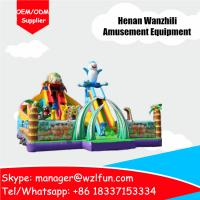 Wholesale Inflatable castle,inflatable bouncer castle and PVC tarpaulin Material inflatable jumping castle from china suppliers